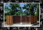 dumpster enclosure image