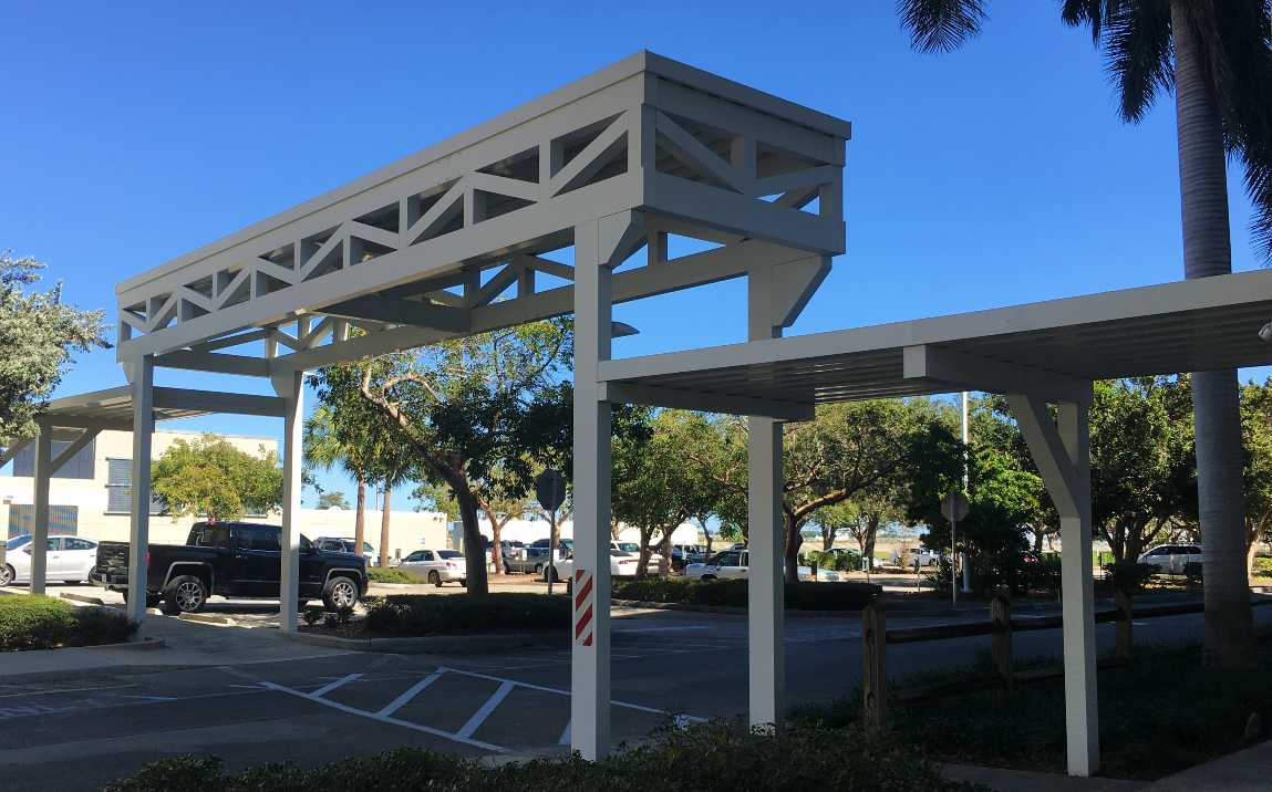 S FL Water Mgmt District Walkway Cover