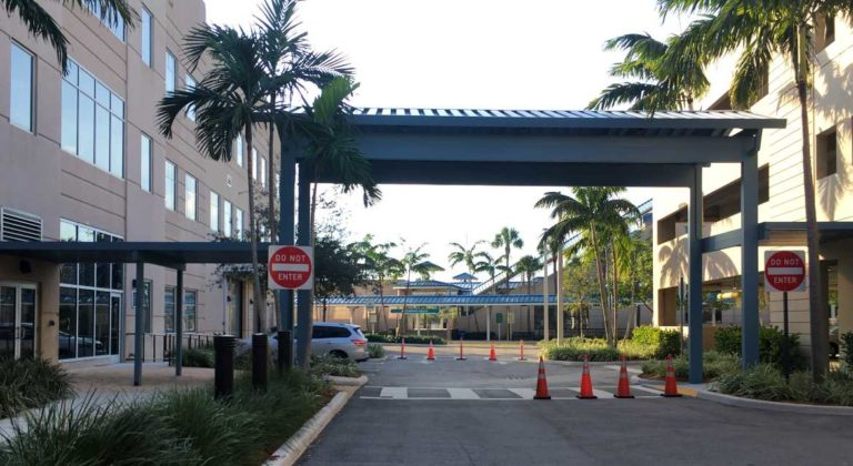 S Fl Transportation Authority Walkway Covers