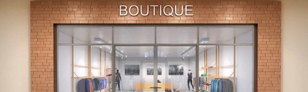 storefront glazing boutique 1